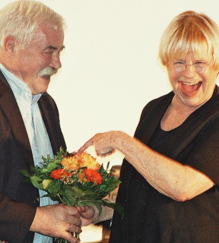 Blumen für Gisela Oechelhaeuser