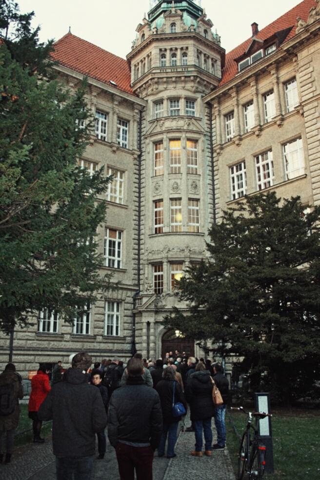Versammlungsort Carl-von-Ossietzky-Gymnasium
