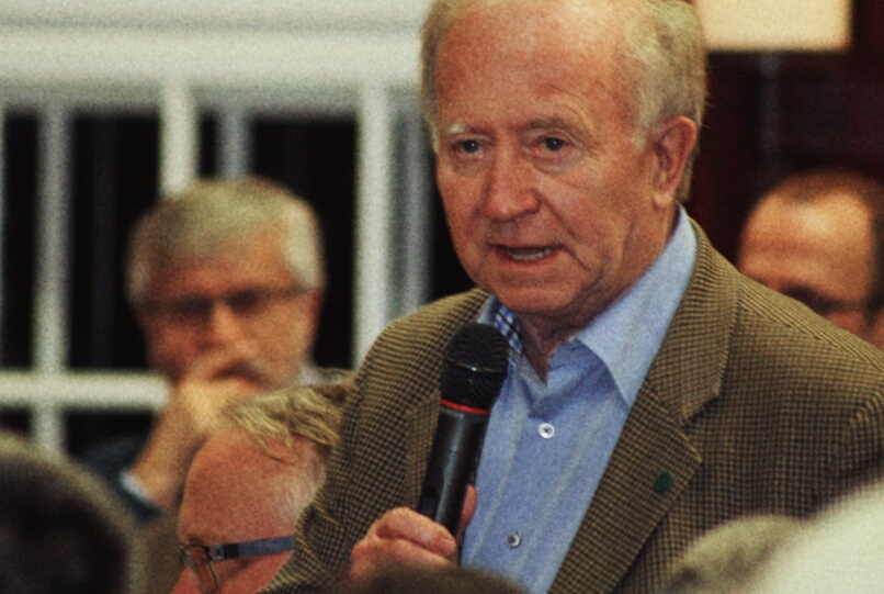 Helmut Hampel, Ehrenvorsitzender des Vereins Für Pankow