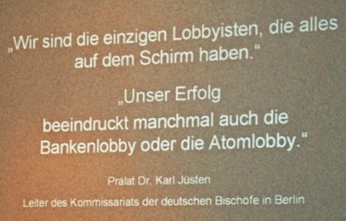 Zitat - Prälat Dr. Karl Jüsten