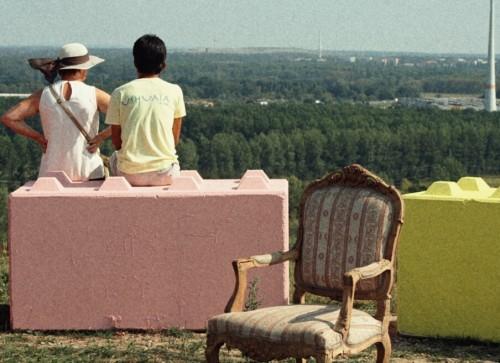 Den 360°-Blick kannst du hier schweifen lassen. Nicht gerade typisch für Berlin.