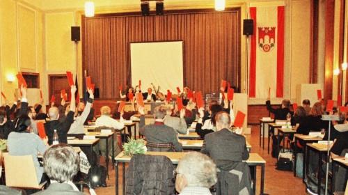 Abstimmungsmarathon in der BVV Pankow