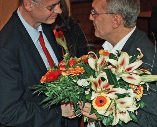 Glueckwuensche zur Wahl als Vorsteher der BVV Pankow