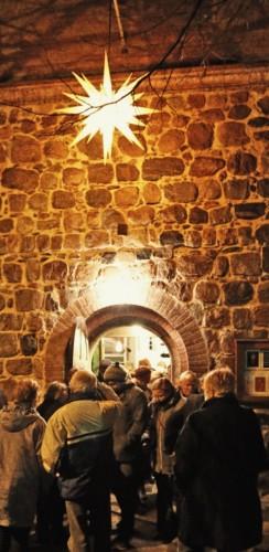 Besucher des Weihnachtskonzerts in der Buchholzer Kirche.