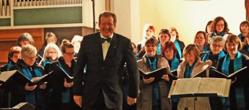 Chor dankt dem Publikum.