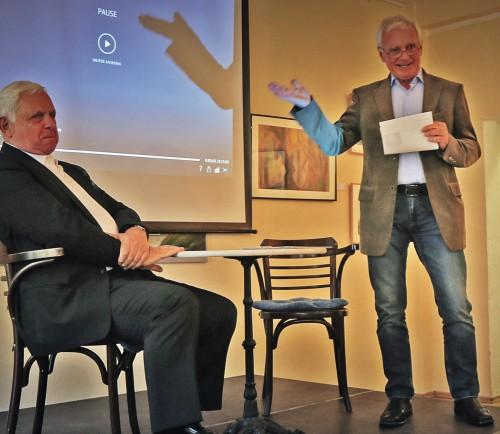 Dieter Klengel stellt Heiner Bremer vor.